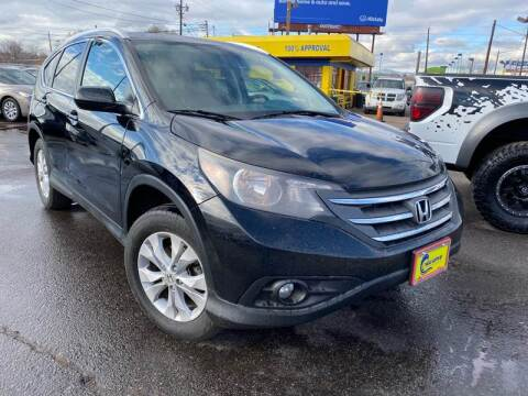 2014 Honda CR-V for sale at New Wave Auto Brokers & Sales in Denver CO
