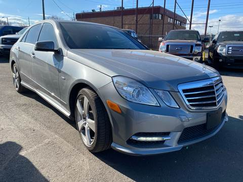 2011 Mercedes-Benz E-Class for sale at New Wave Auto Brokers & Sales in Denver CO