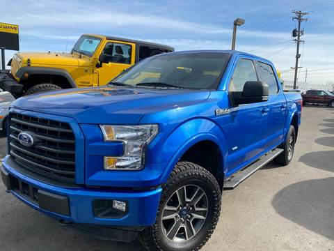 2015 Ford F-150 for sale at New Wave Auto Brokers & Sales in Denver CO
