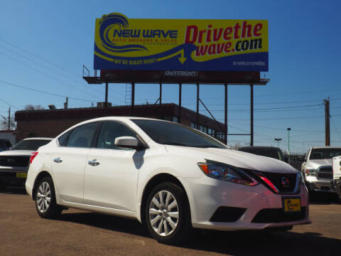 2017 Nissan Sentra for sale at New Wave Auto Brokers & Sales in Denver CO