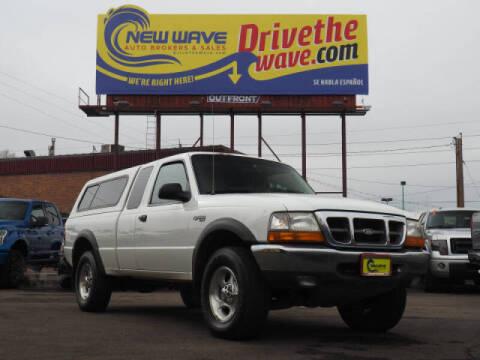 2000 Ford Ranger for sale at New Wave Auto Brokers & Sales in Denver CO