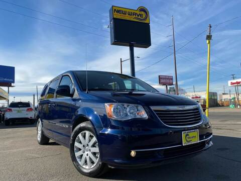2015 Chrysler Town and Country for sale at New Wave Auto Brokers & Sales in Denver CO