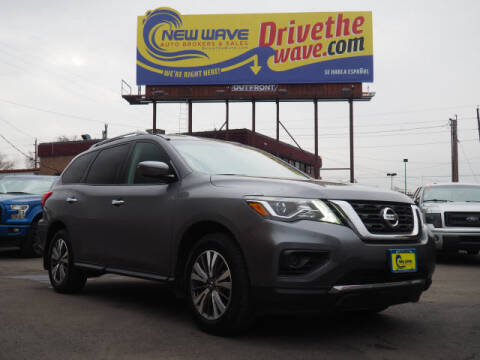 2017 Nissan Pathfinder for sale at New Wave Auto Brokers & Sales in Denver CO