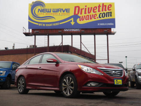 2014 Hyundai Sonata for sale at New Wave Auto Brokers & Sales in Denver CO