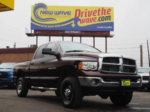 2005 Dodge Ram Pickup 2500 for sale at New Wave Auto Brokers & Sales in Denver CO