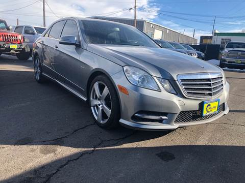 2012 Mercedes-Benz E-Class for sale at New Wave Auto Brokers & Sales in Denver CO