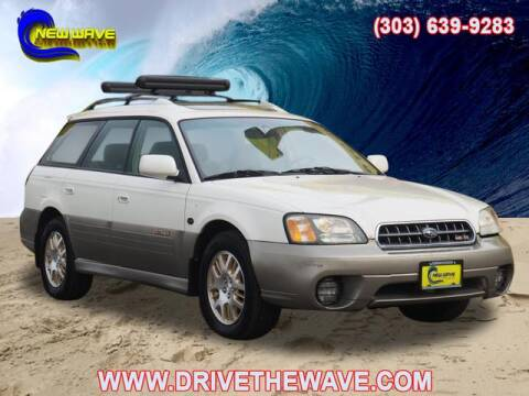 2003 Subaru Outback for sale at New Wave Auto Brokers & Sales in Denver CO