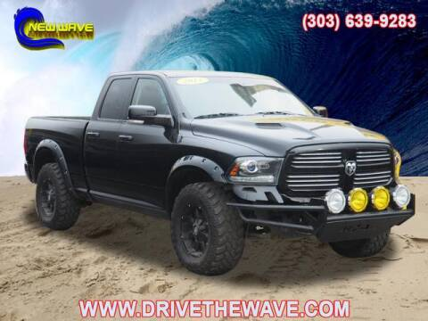 2013 RAM Ram Pickup 1500 for sale at New Wave Auto Brokers & Sales in Denver CO