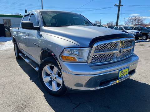 2010 Dodge Ram Pickup 1500 for sale at New Wave Auto Brokers & Sales in Denver CO