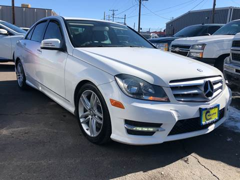 2013 Mercedes-Benz C-Class for sale at New Wave Auto Brokers & Sales in Denver CO