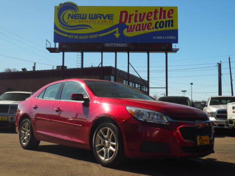 2014 Chevrolet Malibu for sale at New Wave Auto Brokers & Sales in Denver CO