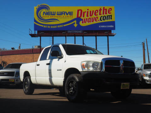 2008 Dodge Ram Pickup 1500 for sale at New Wave Auto Brokers & Sales in Denver CO