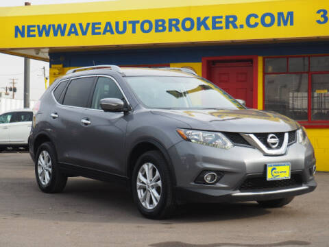 2016 Nissan Rogue for sale at New Wave Auto Brokers & Sales in Denver CO