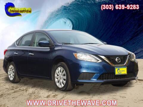 2016 Nissan Sentra for sale at New Wave Auto Brokers & Sales in Denver CO