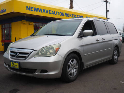 2007 Honda Odyssey for sale at New Wave Auto Brokers & Sales in Denver CO