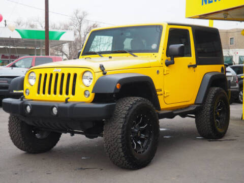 2015 Jeep Wrangler for sale at New Wave Auto Brokers & Sales in Denver CO