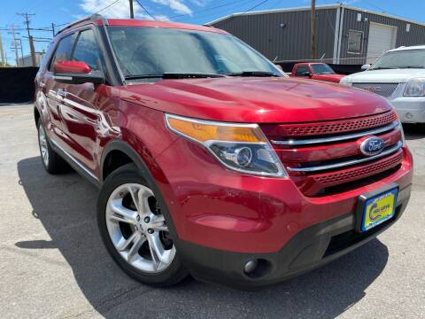 2015 Ford Explorer for sale at New Wave Auto Brokers & Sales in Denver CO