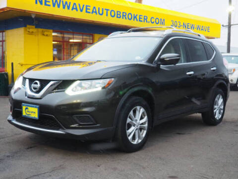 2015 Nissan Rogue for sale at New Wave Auto Brokers & Sales in Denver CO