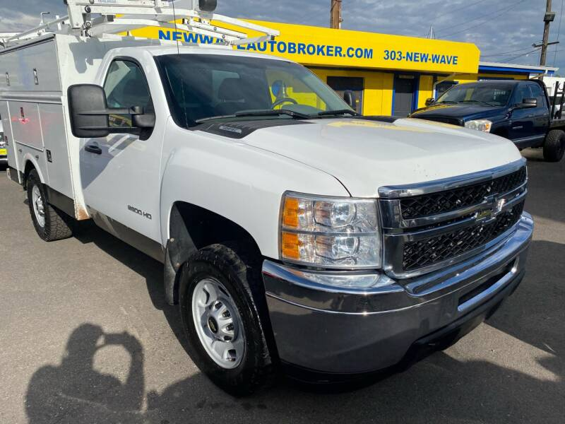 2014 Chevrolet Silverado 2500HD for sale at New Wave Auto Brokers & Sales in Denver CO