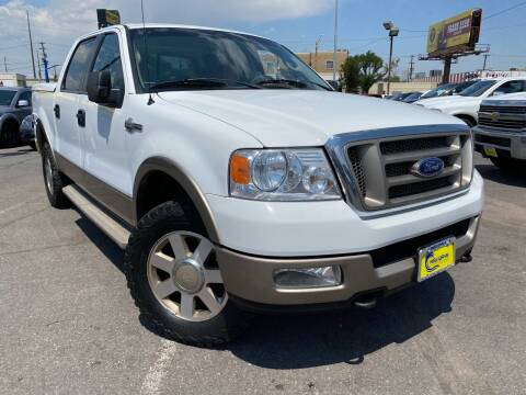 2005 Ford F-150 for sale at New Wave Auto Brokers & Sales in Denver CO