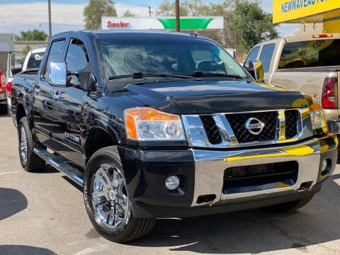 2014 Nissan Titan for sale at New Wave Auto Brokers & Sales in Denver CO