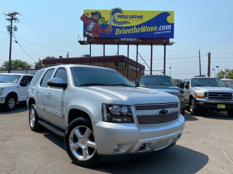 2013 Chevrolet Tahoe for sale at New Wave Auto Brokers & Sales in Denver CO