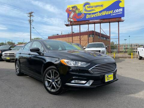 2017 Ford Fusion for sale at New Wave Auto Brokers & Sales in Denver CO