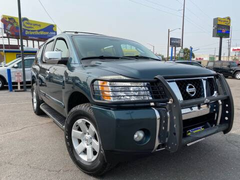 2004 Nissan Armada for sale at New Wave Auto Brokers & Sales in Denver CO
