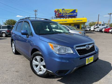 2015 Subaru Forester for sale at New Wave Auto Brokers & Sales in Denver CO