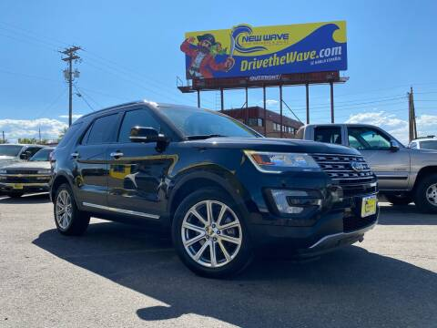 2016 Ford Explorer for sale at New Wave Auto Brokers & Sales in Denver CO