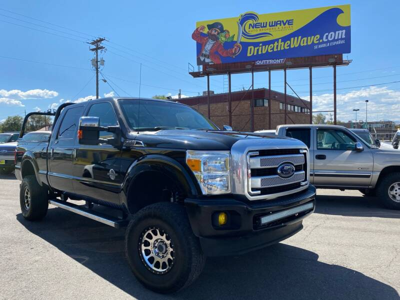 2013 Ford F-250 Super Duty for sale at New Wave Auto Brokers & Sales in Denver CO