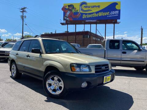 2004 Subaru Forester for sale at New Wave Auto Brokers & Sales in Denver CO