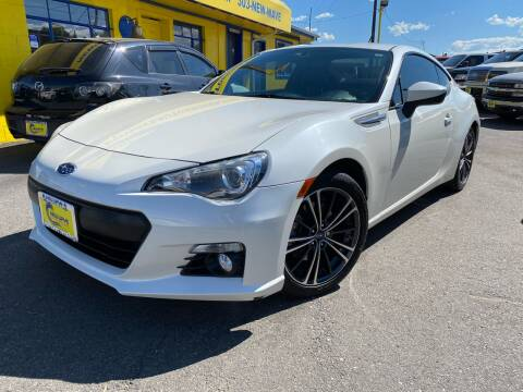 2014 Subaru BRZ for sale at New Wave Auto Brokers & Sales in Denver CO