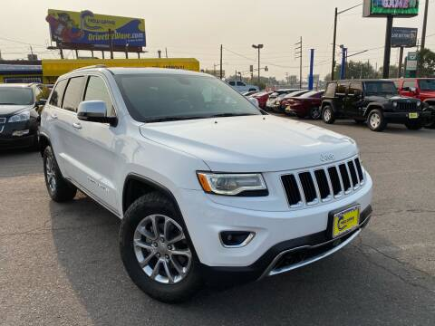2016 Jeep Grand Cherokee for sale at New Wave Auto Brokers & Sales in Denver CO