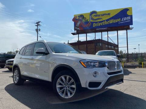 2017 BMW X3 for sale at New Wave Auto Brokers & Sales in Denver CO
