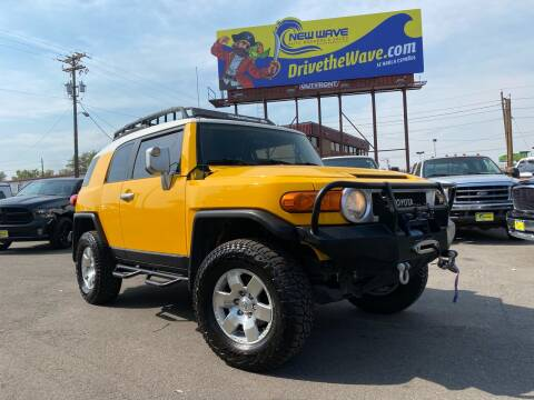 2007 Toyota FJ Cruiser for sale at New Wave Auto Brokers & Sales in Denver CO