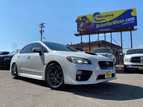 2016 Subaru WRX for sale at New Wave Auto Brokers & Sales in Denver CO