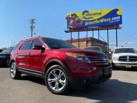 2013 Ford Explorer for sale at New Wave Auto Brokers & Sales in Denver CO