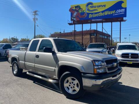2004 Chevrolet Silverado 1500 for sale at New Wave Auto Brokers & Sales in Denver CO