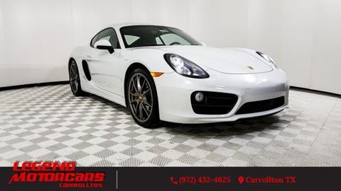 2015 Porsche Cayman for sale in Carrollton, TX