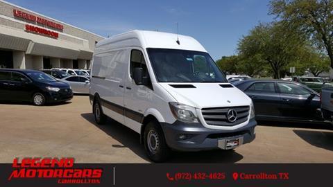 2014 Mercedes-Benz Sprinter Cargo for sale in Carrollton, TX