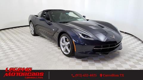 2014 Chevrolet Corvette for sale in Carrollton, TX