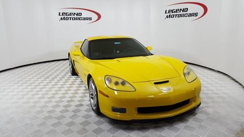 2007 Chevrolet Corvette for sale in Carrollton, TX