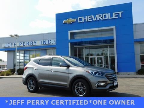 2017 Hyundai Santa Fe Sport for sale in Rochelle, IL