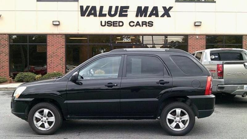 2009 kia sportage lx in greenville nc valuemax used cars. Black Bedroom Furniture Sets. Home Design Ideas