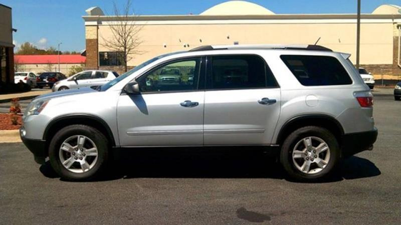 2012 gmc acadia sl in greenville nc valuemax used cars. Black Bedroom Furniture Sets. Home Design Ideas