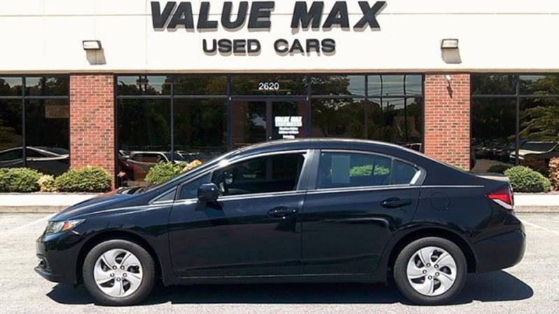 2014 honda civic lx in greenville nc valuemax used cars. Black Bedroom Furniture Sets. Home Design Ideas