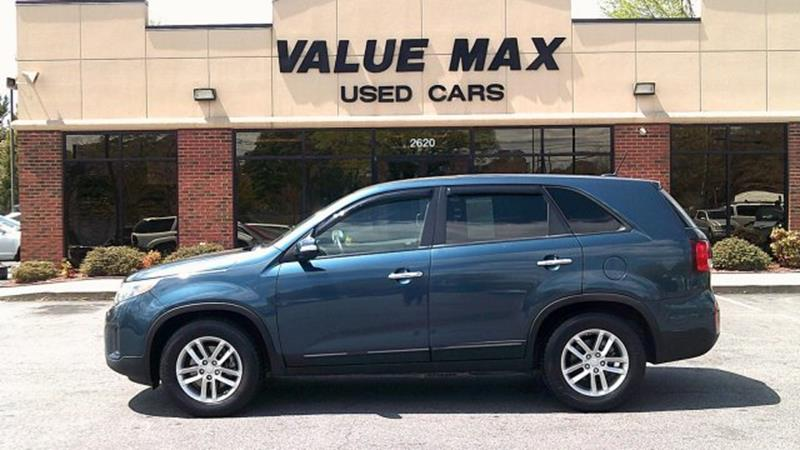 2015 Kia Sorento For Sale At ValueMax Used Cars In Greenville NC