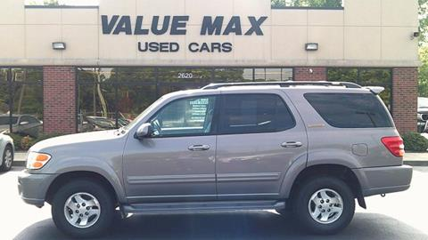 2002 Toyota Sequoia For Sale In Greenville, NC