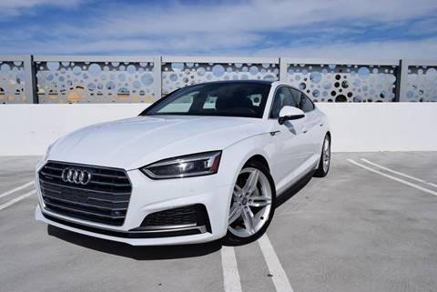 2018 Audi A5 Sportback for sale at Dino Motors in San Jose CA